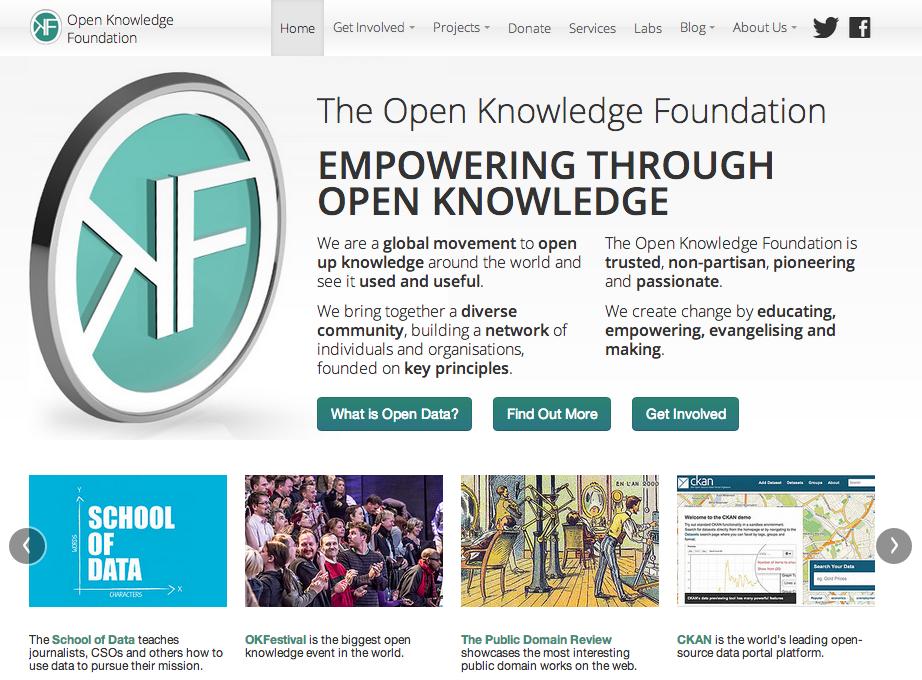 OKF website