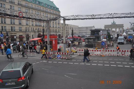 Pariser Platz foran Brandenburger Tor