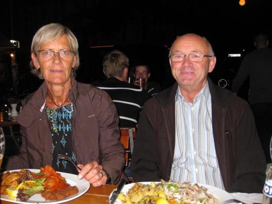 Restaurantbesøg i Friedrichshain