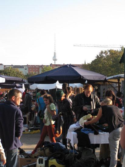 Markt am Mauerpark