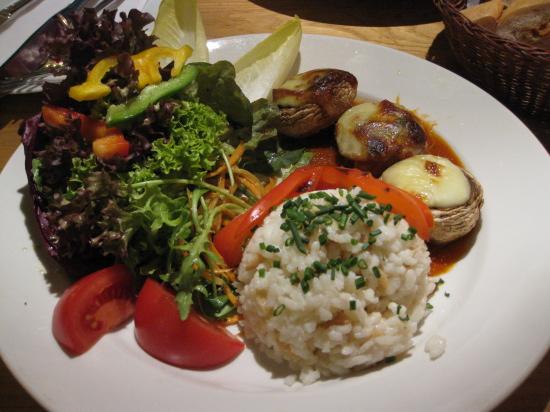 Champignon vegetarret