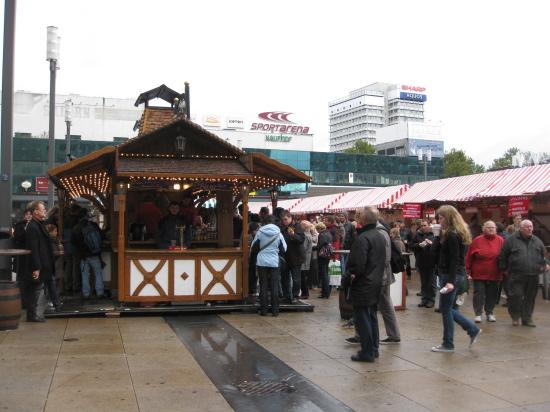 Oktoberfest på Alexanderplatz