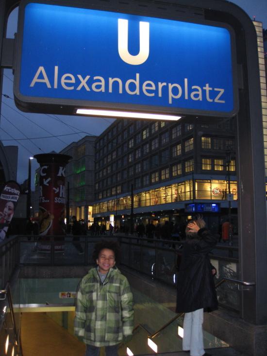 """Alexander på hans plads """"Alexanderplatz"""""""