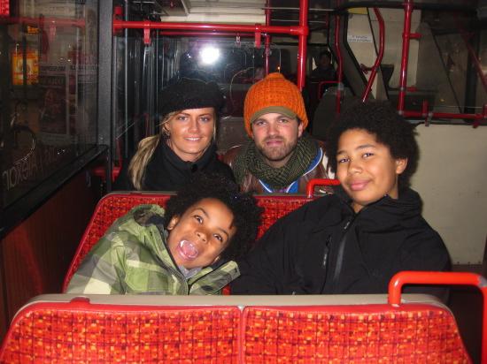 Ombord på bussen