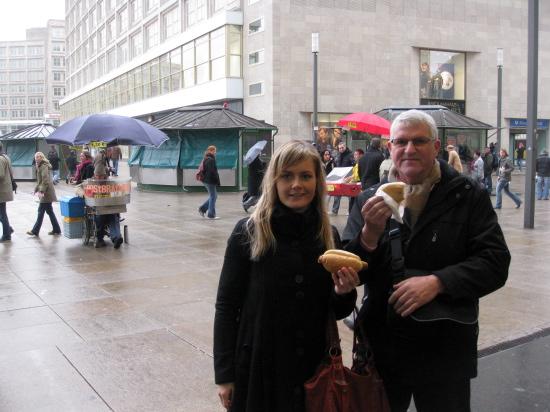 Frokost på Alexanderplatz