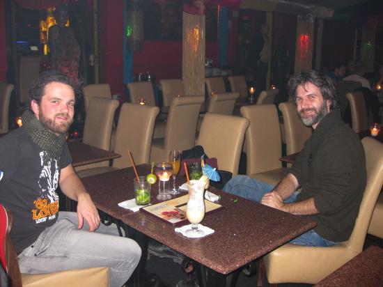 Christian og Søren på Mirchi