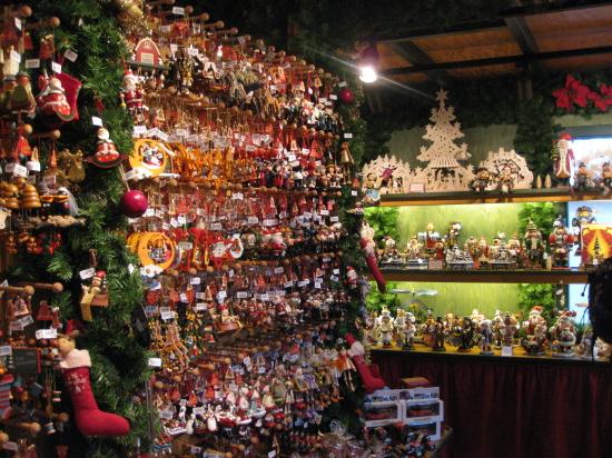 Julebutik på julemarkedet