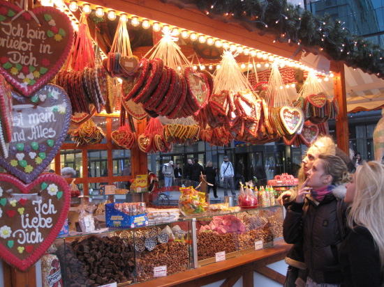Julemarked på Alexanderplatz