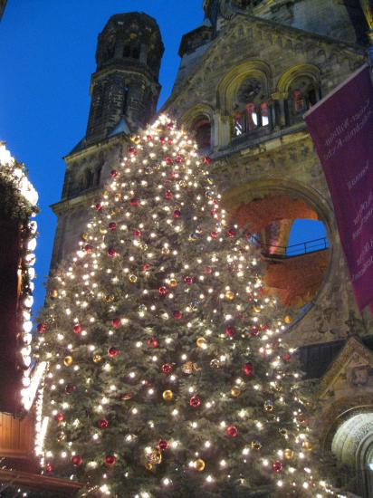 Juletræ ved Gedächtsniskirche