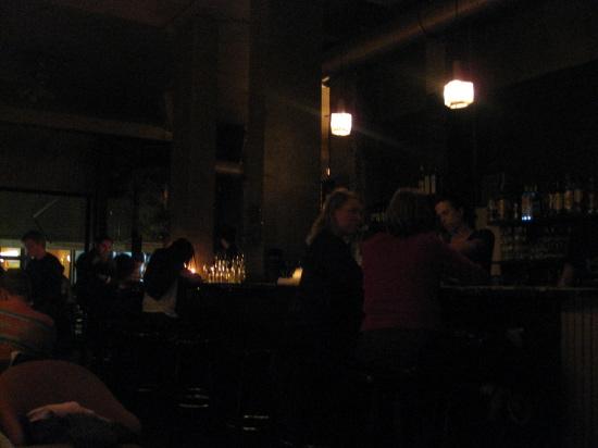 Efter aftensmaden var vi på rigtig hyggelig cafe (vi kalder den Rosegren)