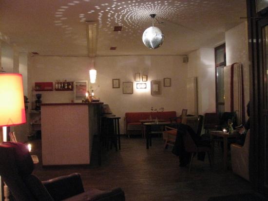 Veganerrestauranten 'Hans Wurst'