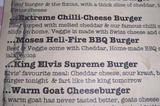 Den legendariske menu